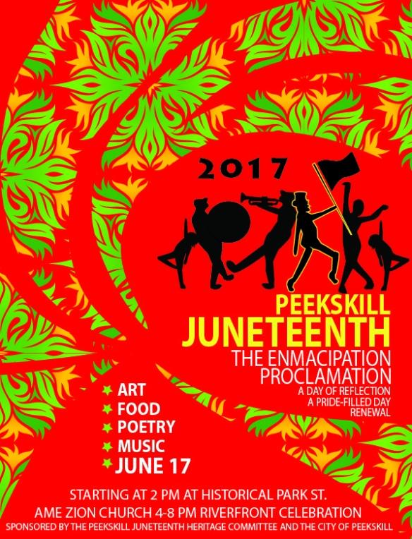 juneteenth poster red idea